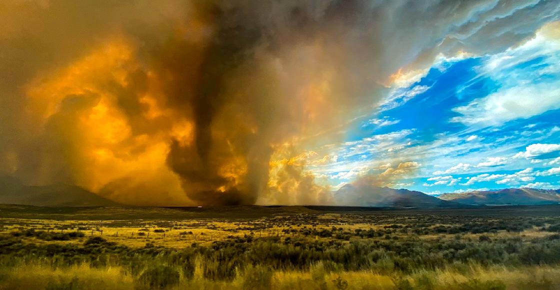 Porque 2020: Alerta al norte de California por aparición de un tornado de fuego