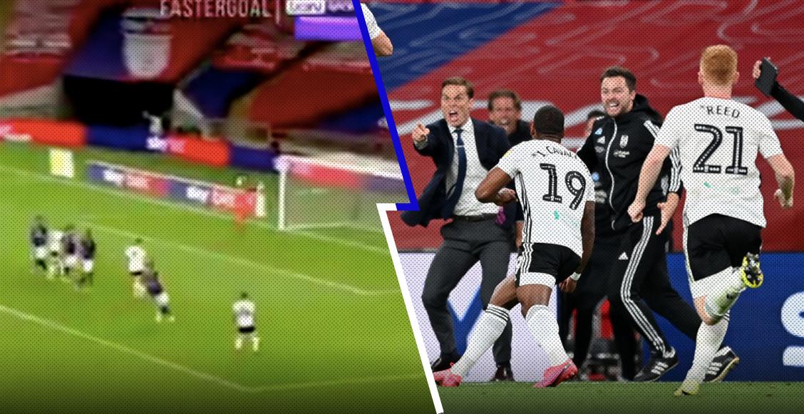 Los goles del partido entre Brentford y Fulham por el ascenso a la Premier League
