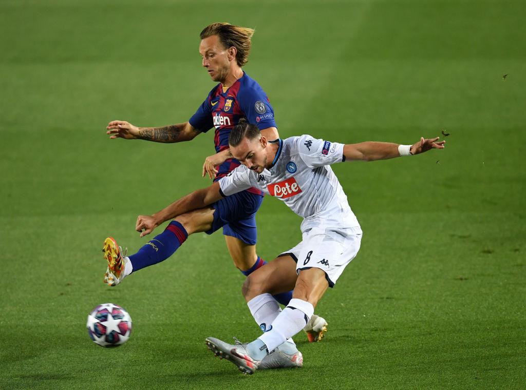 El show de Lionel Messi en la goleada del Barcelona al Napoli en la Champions League