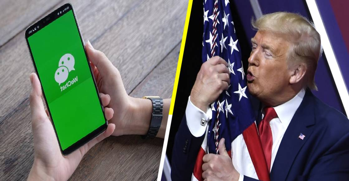 ¡No se dejarán! Usuarios de WeChat en estados Unidos demandan a Trump