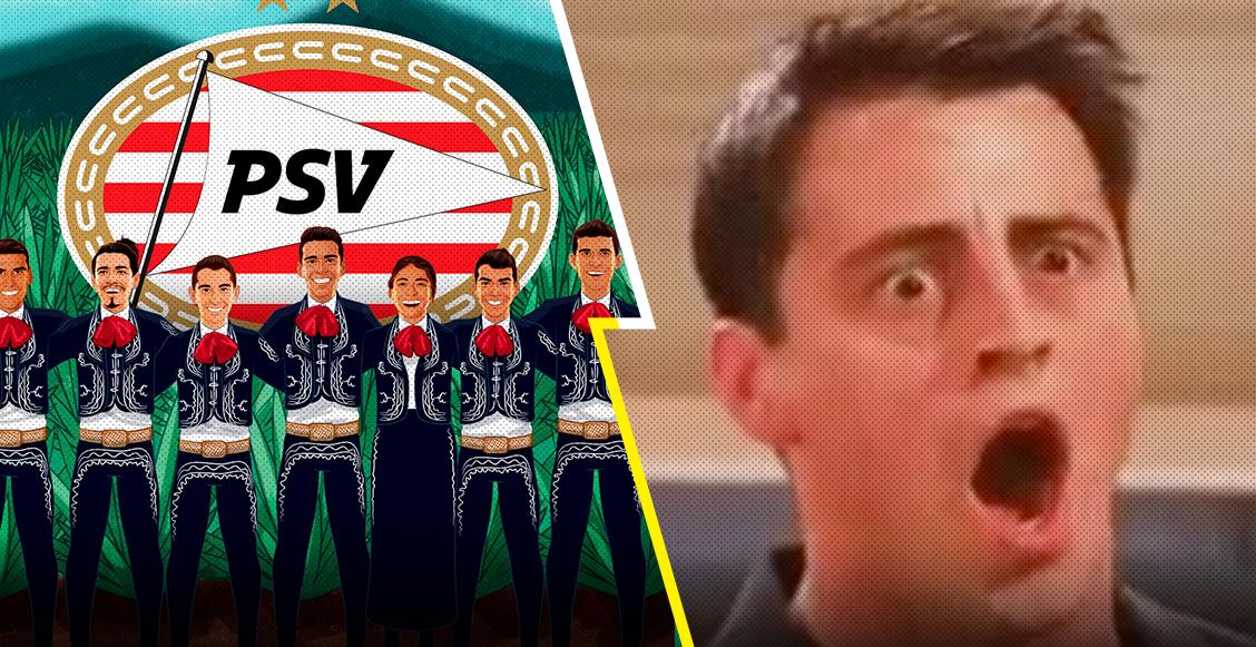 """Así fue la divertida """"guerra"""" entre Wolves y PSV por ser el más mexicano"""