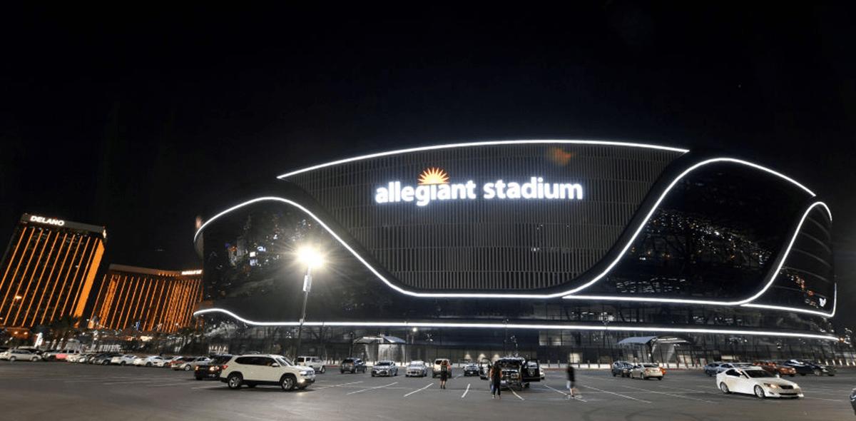 Así luce el Allegiant Stadium