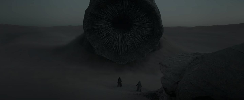 Gusano de arena en Dune