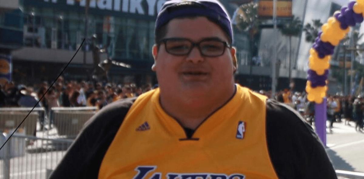 Christopher Huerta: La historia del fan de los Lakers que adelgazó 80 kilos inspirado en Kobe Bryant