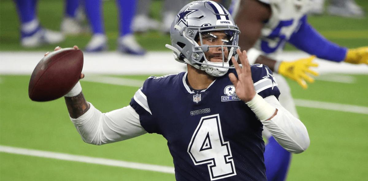 Dak Prescott en la temporada 2020 de la NFL