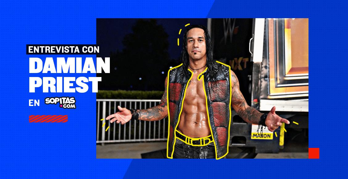 """""""Quiero ser recordado en el ring"""": El sueño y las metas de Damian Priest en la WWE"""