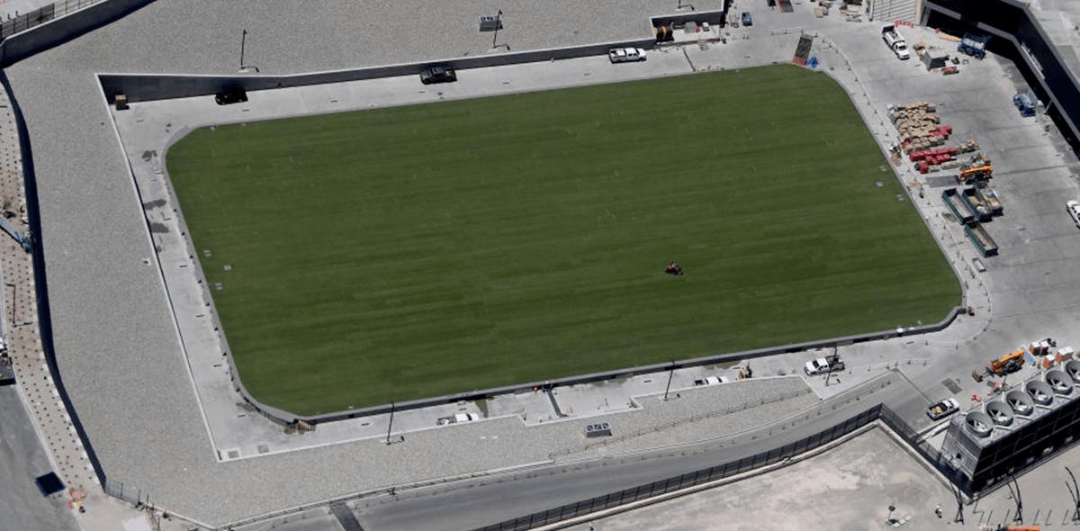 El estadio de los Raiders para 2020
