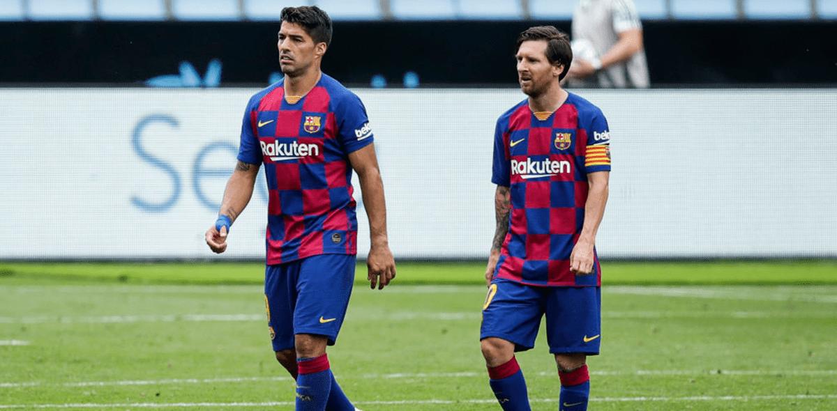 ¡Duro y directo! La despedida de Messi a Suárez con recadito al Barcelona