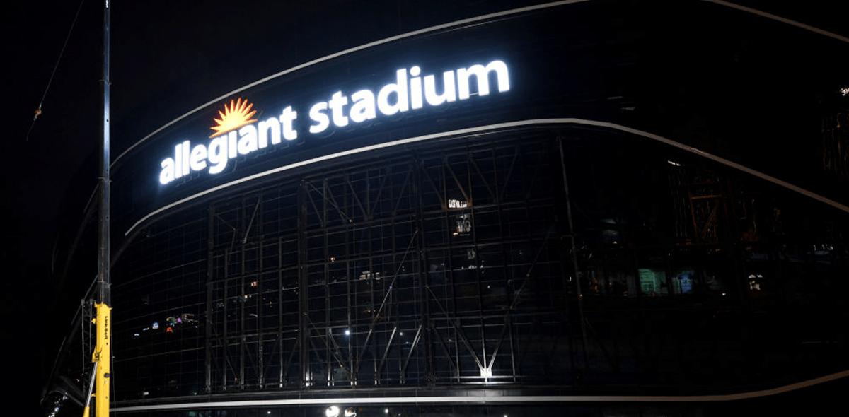 Gallería del Allegiant Stadium de los Raiders