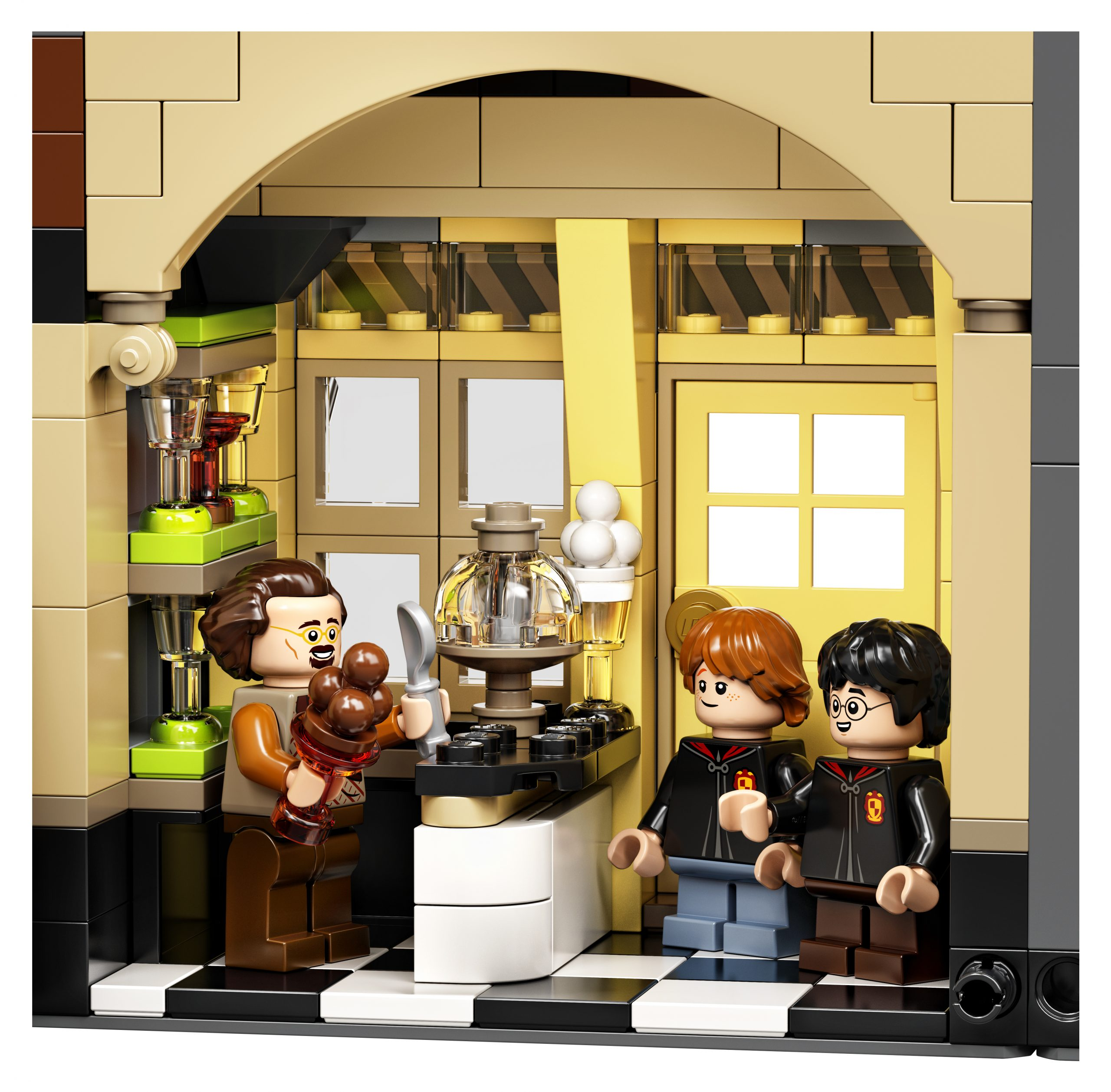 ¡LEGO lanza un espectacular set del Callejón Diagon de 'Harry Potter'!