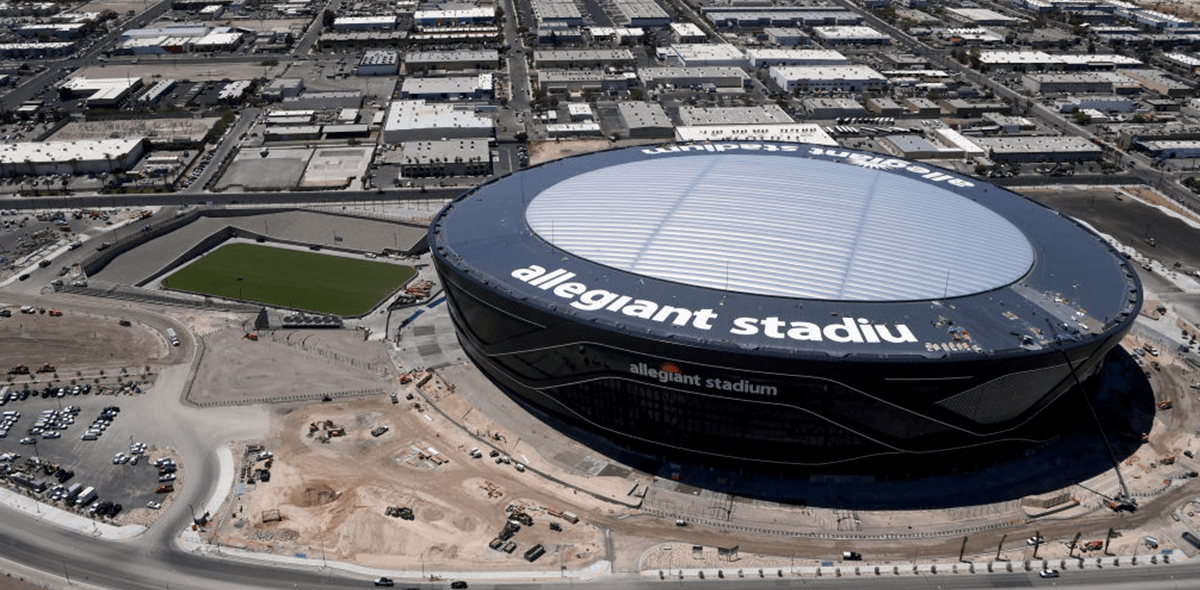 La casa de Las Vegas Raiders en 2020