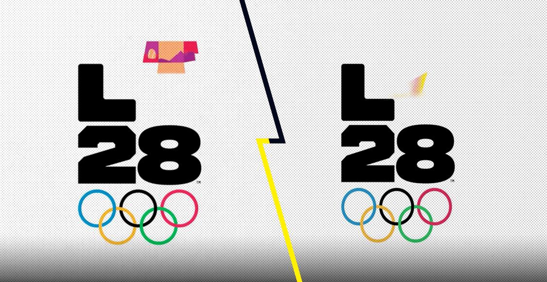 La historia detrás del logo de los Juegos Olímpicos de Los Ángeles 2028