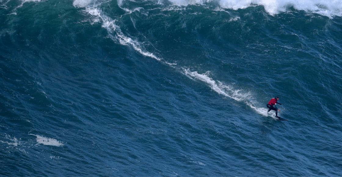 Maya Gabeira y la historia de la ola más alta del mundo que casi le cuesta la vida