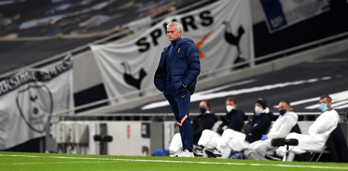 ¿Fue al baño? El peculiar momento de Eric Dier y Mourinho en la Carabao Cup