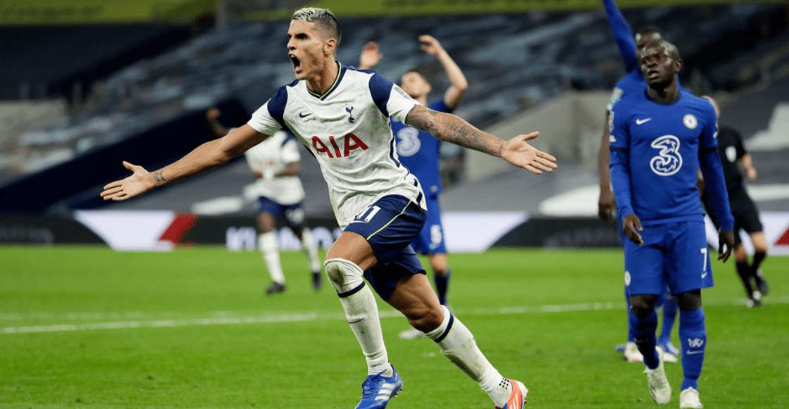 Noche de debuts: Lampard y el Chelsea fueron eliminados de la Carabao Cup por el Tottenham de Mourinho