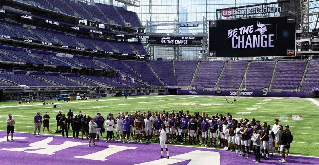 ¡Ejemplar! Vikings recibirán a la familia de George Floyd para su debut en la temporada 2020 de la NFL