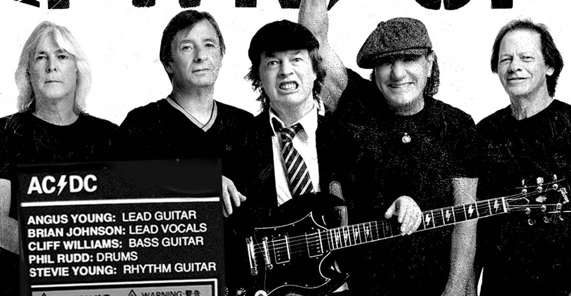 AC/DC está de vuelta con Brian Johnson y el posible título de su nuevo disco