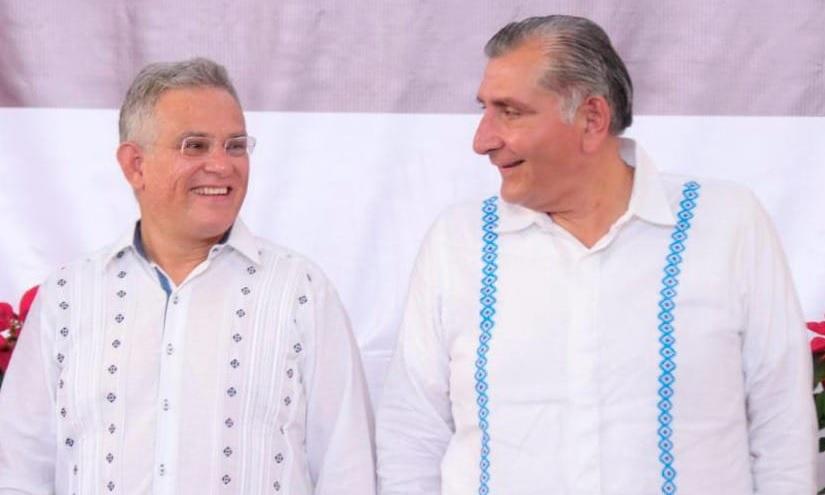Alcalde MAcuspana y gobernador de Tabasco