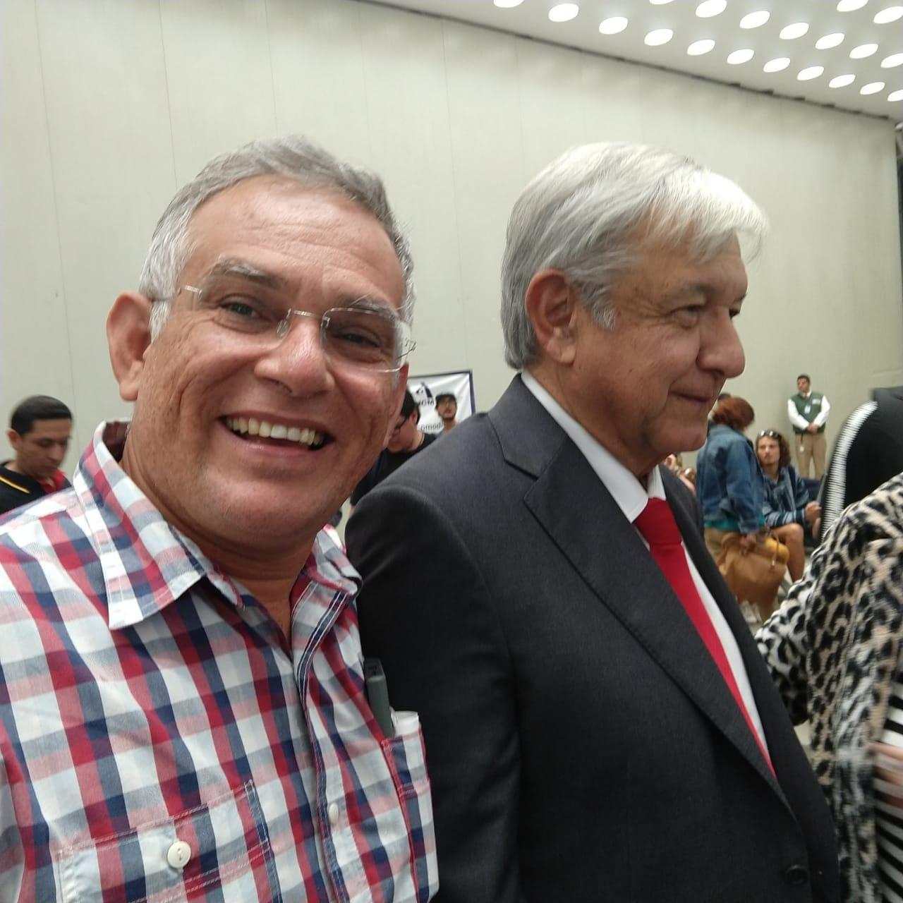 Alcalde Macuspana y AMLO