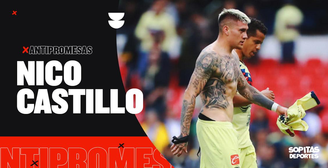 Antipromesas: Nico Castillo, el refuerzo que ha pasado más tiempo lesionado que en la cancha