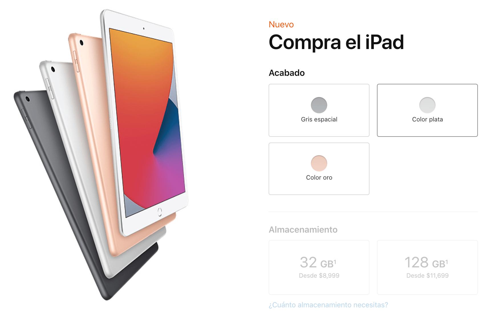 precio del ipad en México