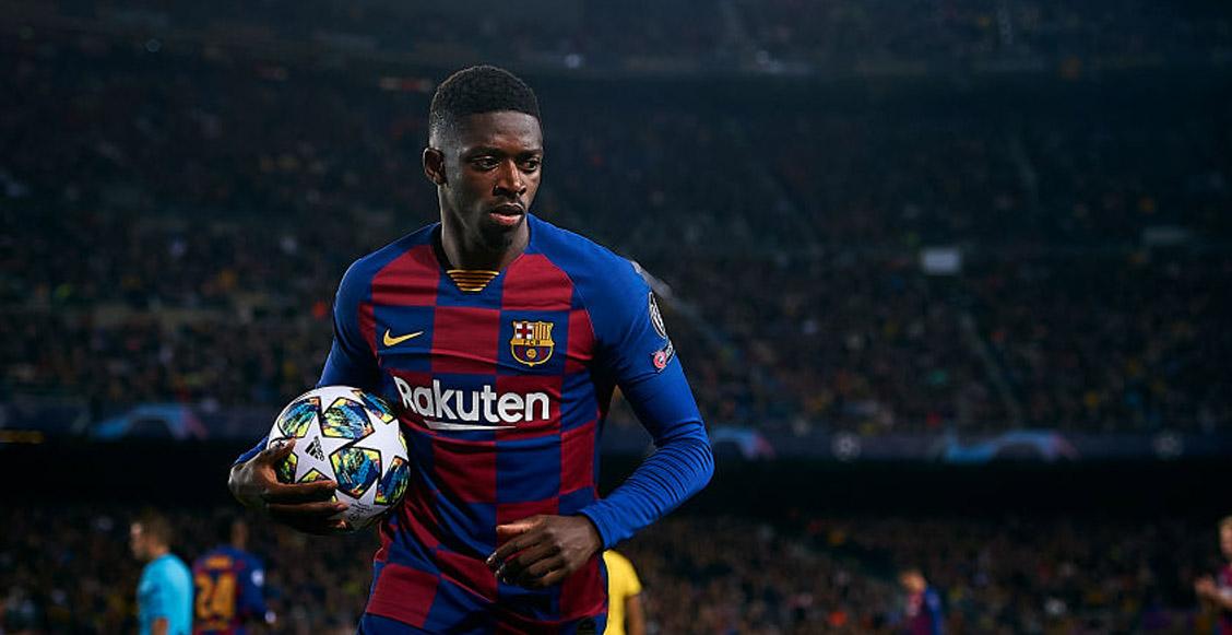 Otra salida más: Barcelona estaría a nada de vender a Dembélé al Manchester United