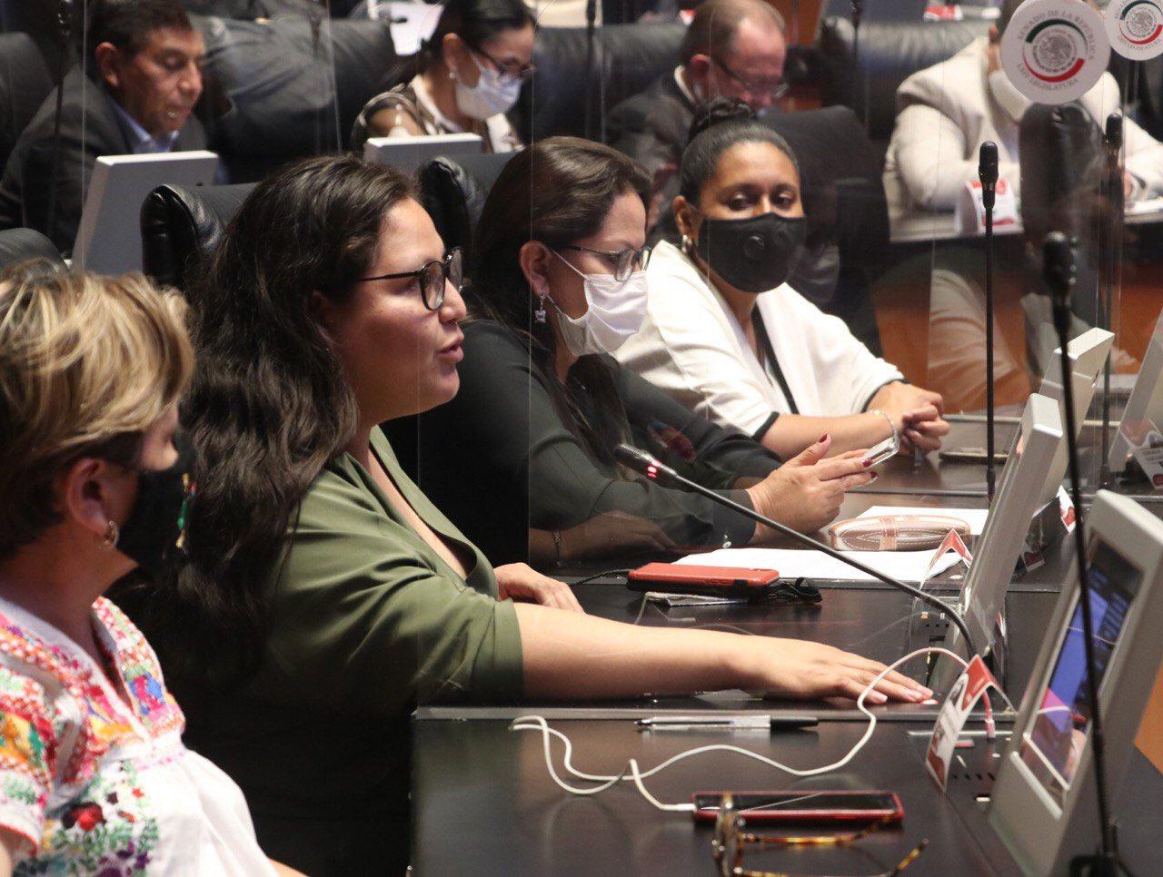 Citlalli Hernández, senadora de Morena