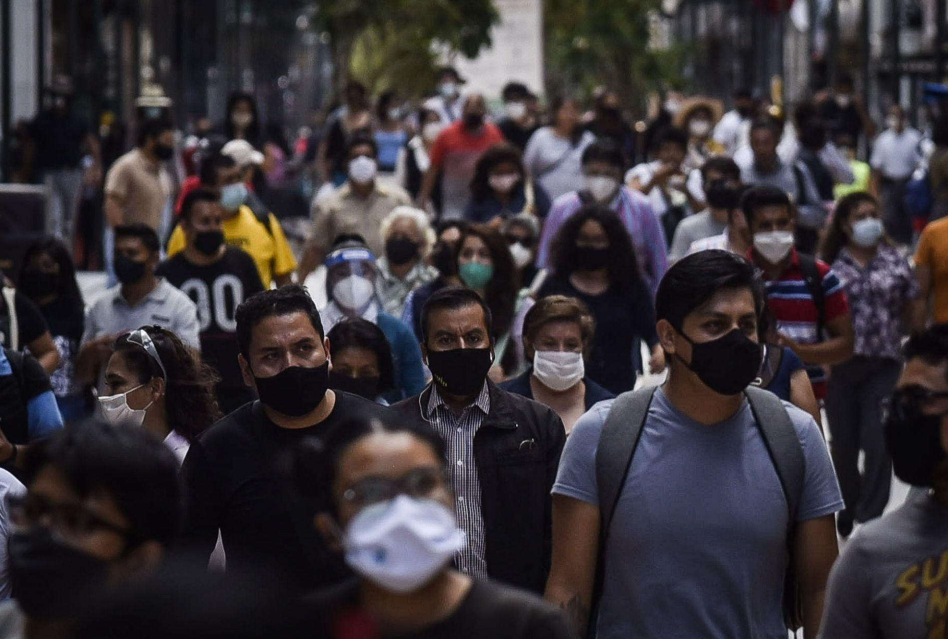 Primera semana de septiembre muestra un ligero repunte de contagios en México