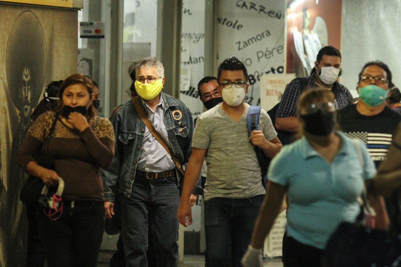 Avance del coronavirus en México al 19 de septiembre