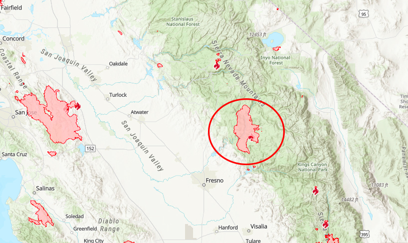 creek-fire-mapa-california
