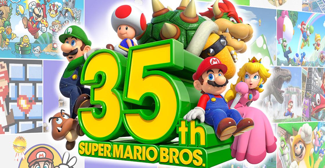 Se volaron la barda: Esto es todo lo que Nintendo anunció por el 35 aniversario de 'Super Mario Bros.'