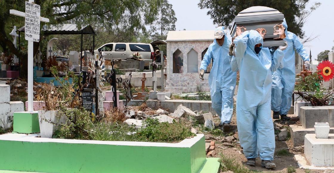 México registra 122 mil muertes más de las que se esperaban para este 2020