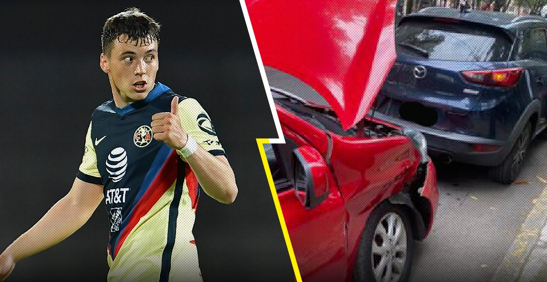 Lo que sabemos sobre el accidente automovilístico de Federico Viñas cerca de Prepa 5