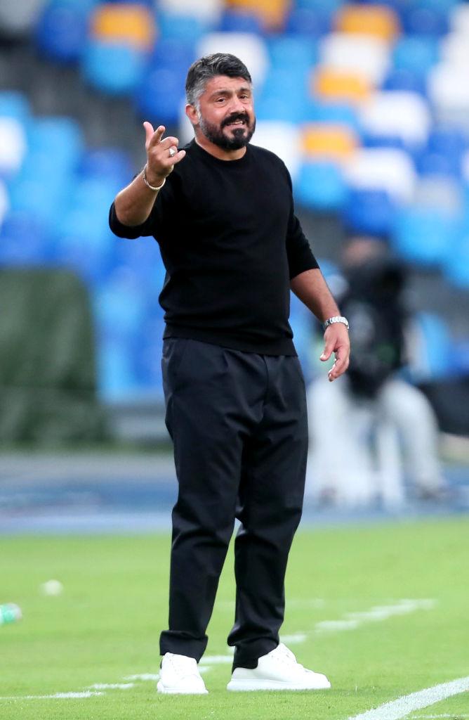 Gattuso tras el doblete del 'Chucky' Lozano