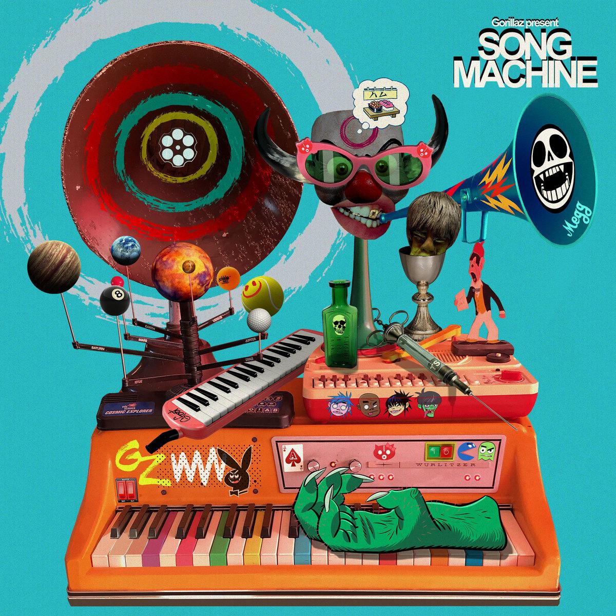 Beck, Elton John y más aparecerán en el disco 'Song Machine' de Gorillaz