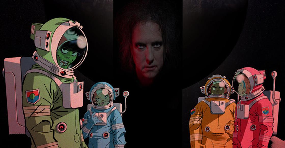 ¡Es tan hermoso! Gorillaz libera la colaboración 'Strange Timez' con Robert Smith
