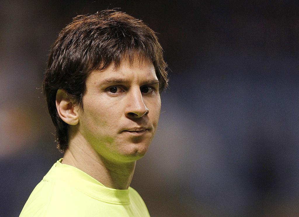 El día que Messi defendió la camiseta del… ¿Atlético de Madrid?