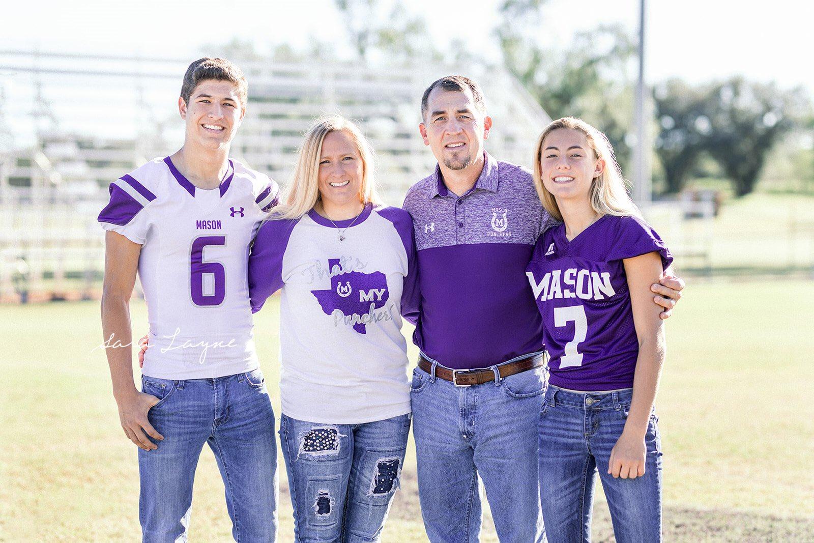 Tristin Keller hizo historia al jugar futbol americano con el equipo varonil de su colegio