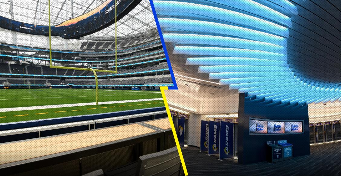 En imágenes: Así luce el novedoso SoFi Stadium, casa de los Rams y Chargers en la NFL