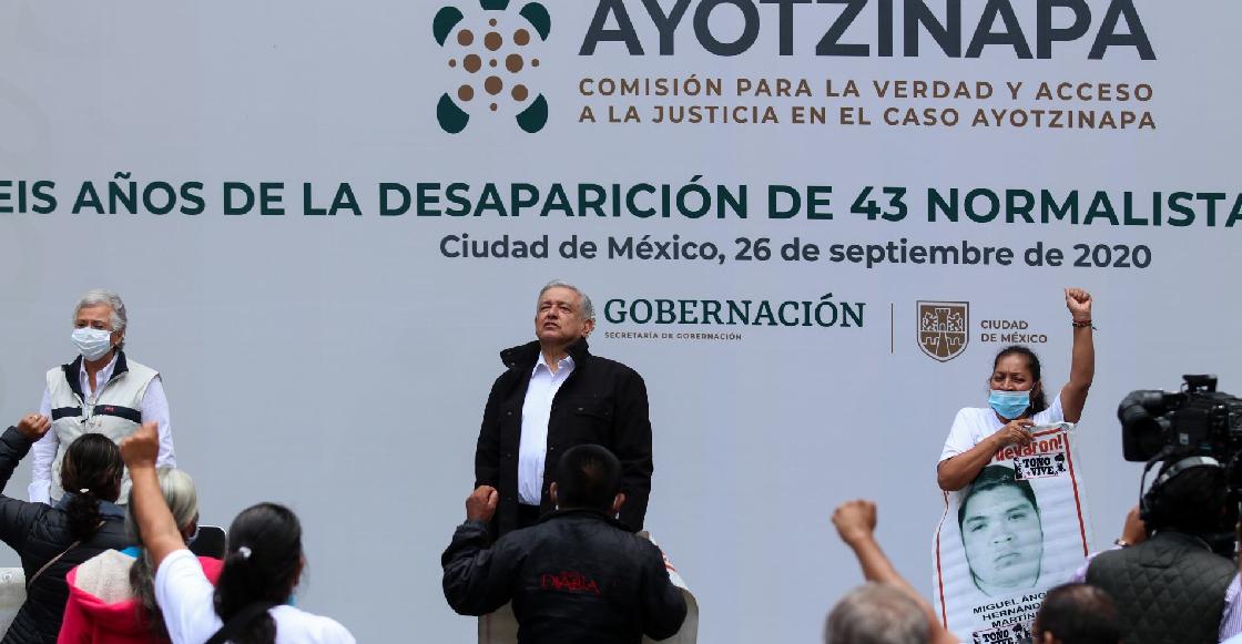 El informe de AMLO a seis años de Ayotzinapa