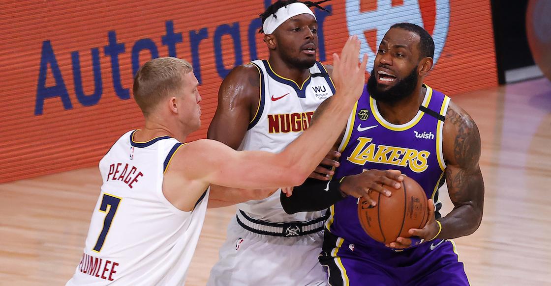 Lakers se instalan en la Final de la NBA tras romper sequía en el Oeste