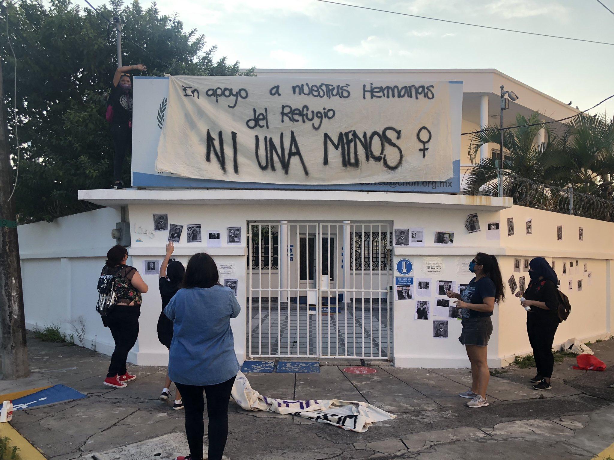 manifestacion-cndh-veracruz-feministas