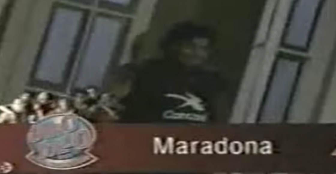 ¿Quieren monólogo? Esto es lo que pidió Maradona para aparecer en 'Otro Rollo'