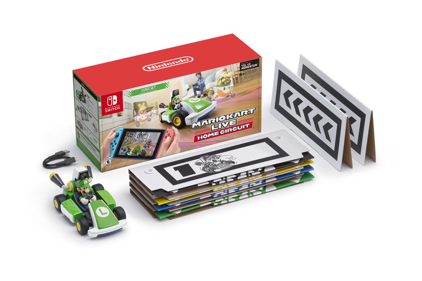 ¡Nintendo trae las carreras a la vida real con 'Mario Kart Live: Home Circuit'!