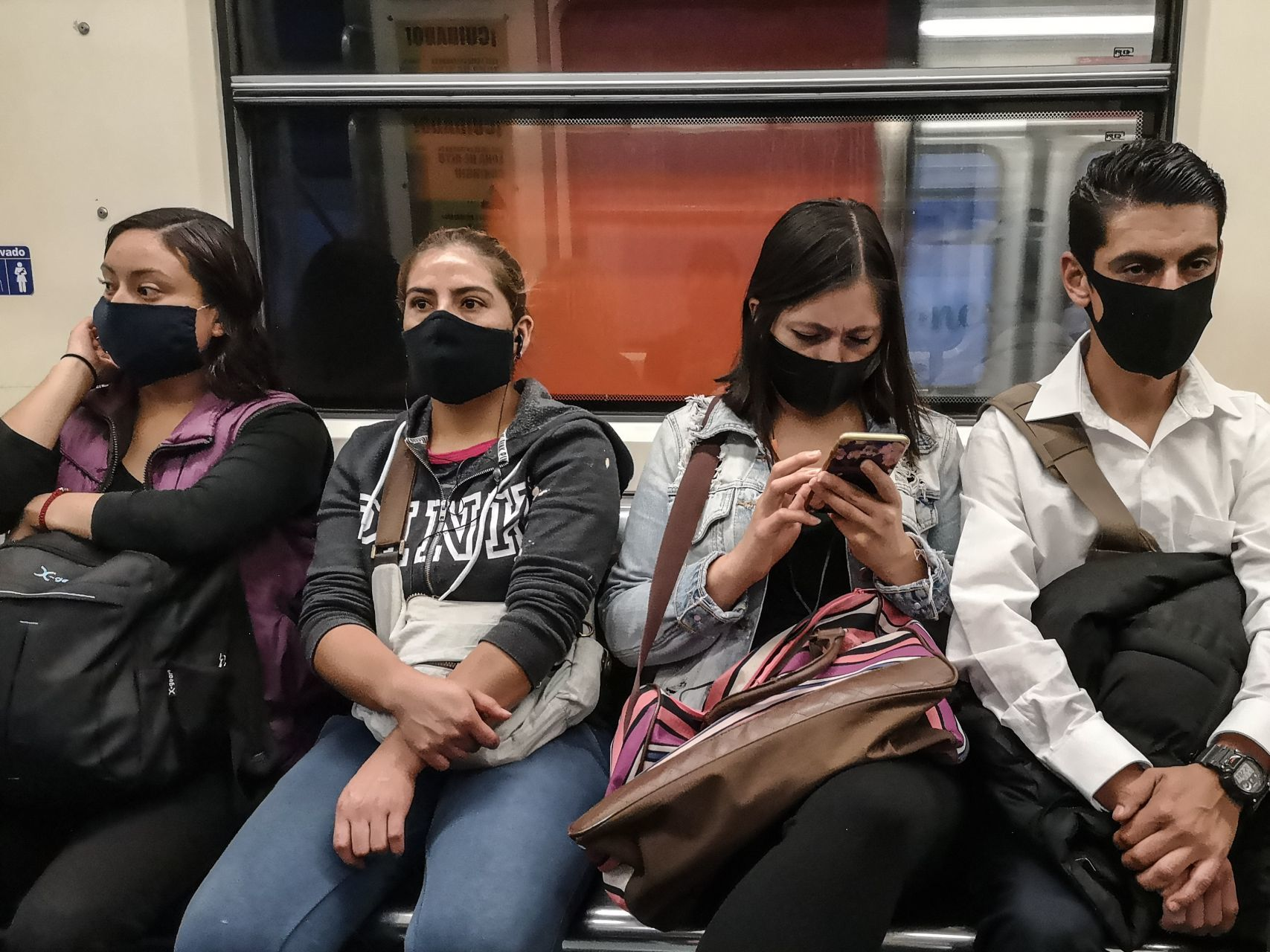 Información que cura: Estas son las líneas del Metro donde más se usa cubrebocas