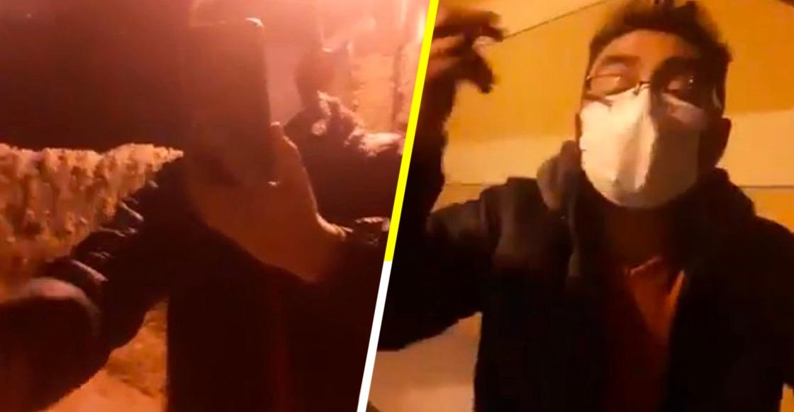 Una mujer y su abuelo fueron agredidos por darle de comer a perritos callejeros