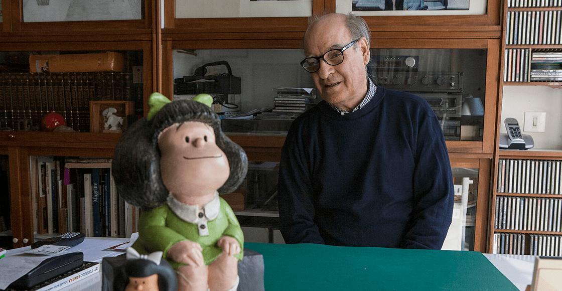 Murió Quino, creador de Mafalda, a los 88 años de edad