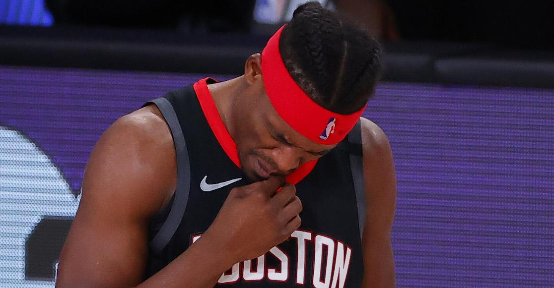 ¡Houston, tenemos un problema! NBA expulsa a Danuel House por meter a una mujer a la burbuja