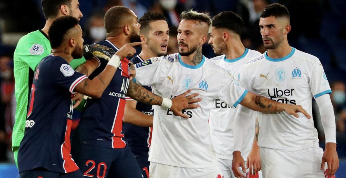 Esta es la dura sanción que recibirían Neymar y Álvaro tras el pleito en el PSG vs Marsella