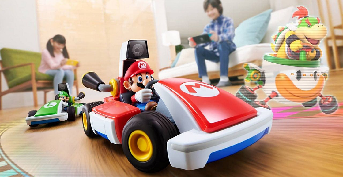Nintendo brings racing to life with 'Mario Kart Live: Home Circuit'!